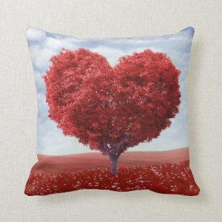 Heart Shaped Tree Pillow Cushions