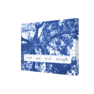 Heart Soul Mind Strength Canvas