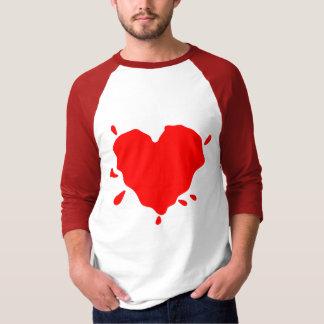 Heart Spalt (Love is Messy) Tee Shirt