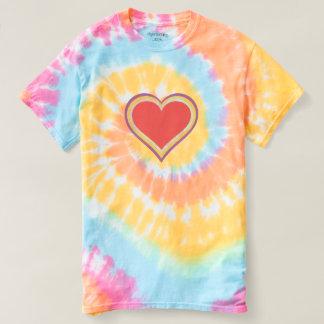 Heart - Spiral Tie-Dye T-Shirt