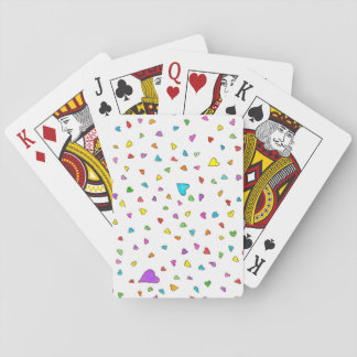 Heart Sprinkles- Playing Cards