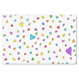 Heart Sprinkles- Tissue Paper