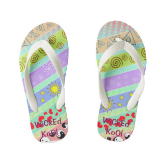 Heart Stars Patterned Toddlers/Girl Sandals
