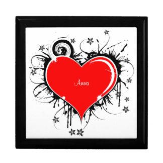 Heart Tile Box Large Square Gift Box