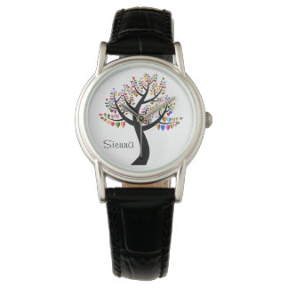 Heart Tree Love Watch Name