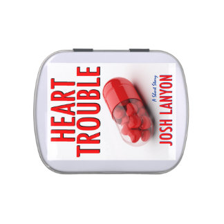Heart Trouble fresh mint tin Jelly Belly Candy Tin