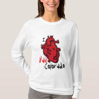 heart Vail Colorado ladies hoodie