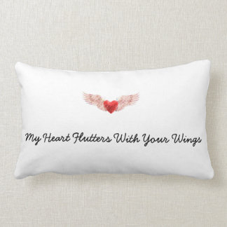 Heart With Wings Pillow