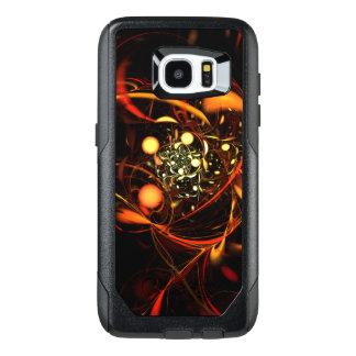 Heartbeat Abstract Art OtterBox Samsung Galaxy S7 Edge Case