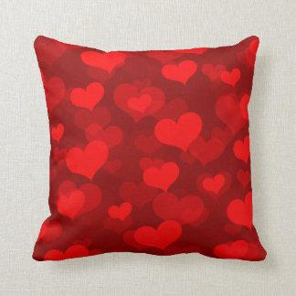 Hearts Abound Throw Cushions