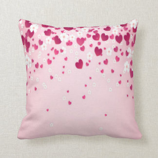 hearts and flowers cushions