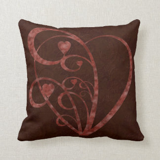 Hearts and Swirls Pillow