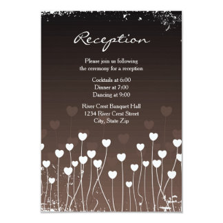 Hearts Bloom - Reception Invitation