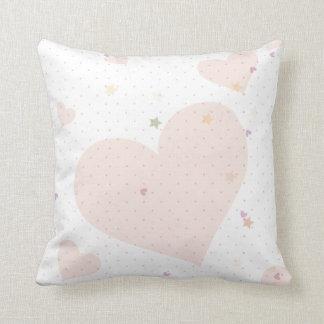 Hearts Throw Pillows