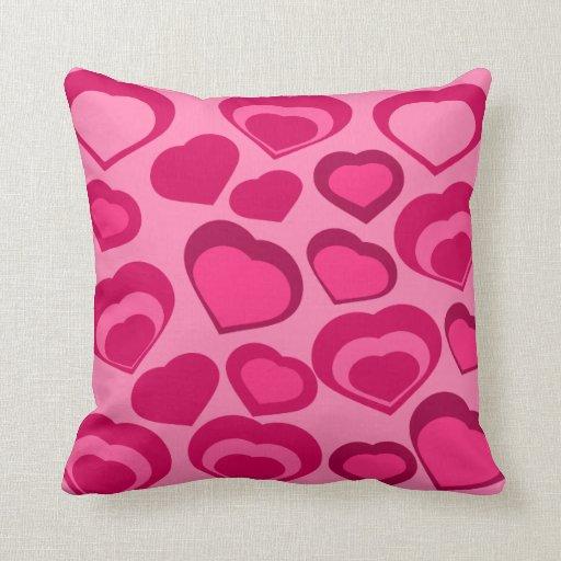 hearts HEARTS Throw Pillows