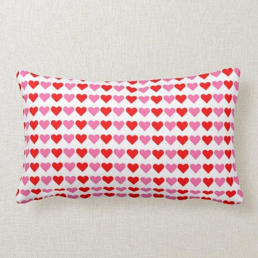 Hearts,Hearts,Hearts Lumbar Pillow