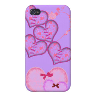 Hearts Case For iPhone 4