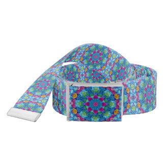 Hearts Kaleidoscope  Custom Belt
