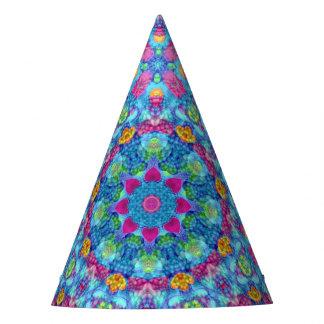 Hearts Kaleidoscope Customizable Party Hats