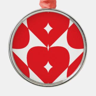 Hearts Linked Christmas Ornament