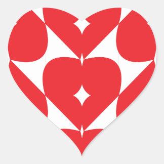 Hearts Linked Heart Sticker