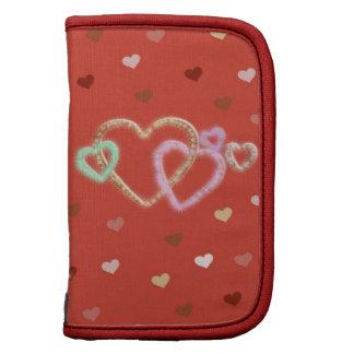 Hearts Mini Folio Planner