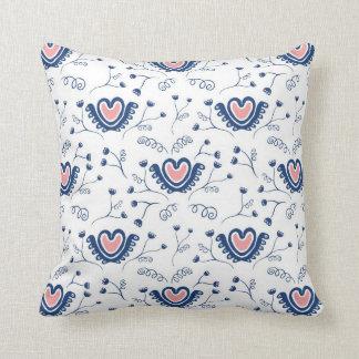 Hearts n' Flowers Cushion