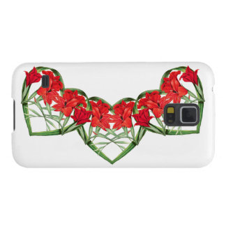 Hearts of Gladiola Flowers Floral Case