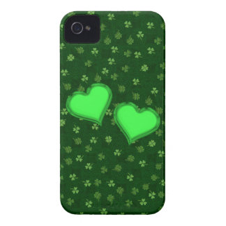 Hearts on Celtic and Clover iPhone 4/4s Case