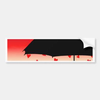 Hearts Original Design Bumper Sticker
