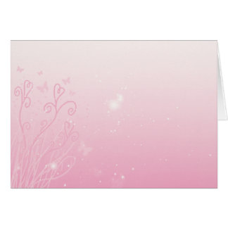 Hearts, Stars, and Butterflies Greeting Card