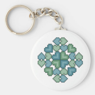 Hearts Touch Keychain
