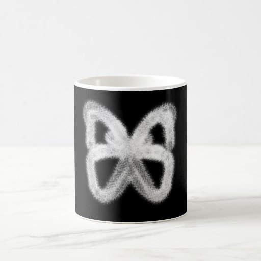 Heat Activated Appearing Butterfly Mug