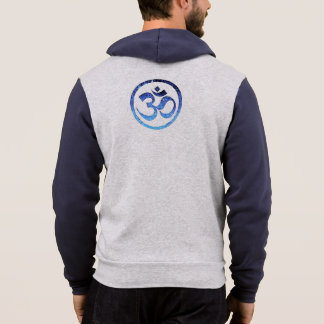 HEATHER GREY AND NAVY MAN'S HOODIE GIFT!