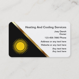 147 air services business cards and air services business card heating and cooling business cards reheart Images