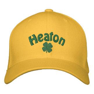 Heaton  Four Leaf Clove Embroidered Baseball Caps