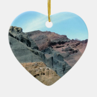heaven and hell ceramic heart decoration