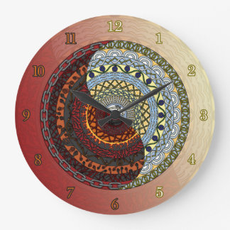 Heaven and Hell Clock