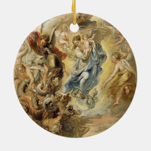Heaven and Hell Christmas Ornaments
