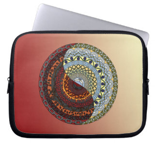 Heaven and Hell Laptop Case Computer Sleeve