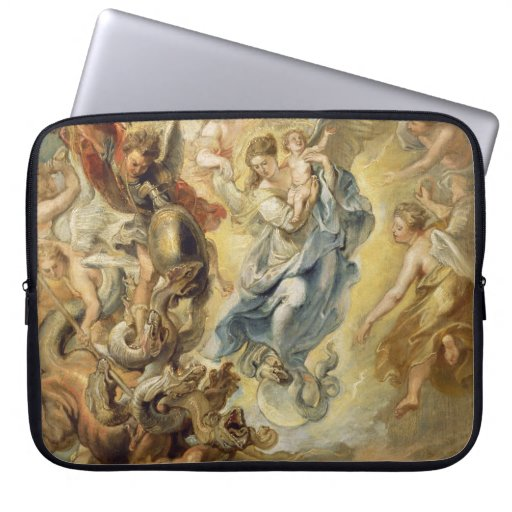 Heaven and Hell Laptop Sleeves