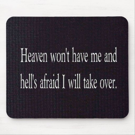 Heaven and Hell Mouse Mat