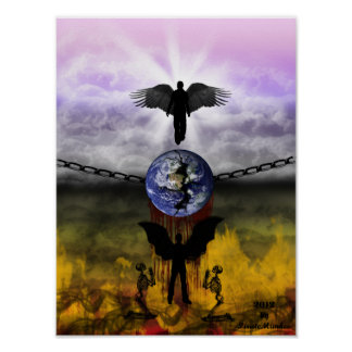 Heaven and Hell Poster