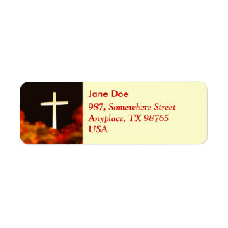 Heaven and Hell Return Address Label