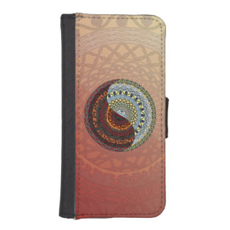 Heaven and Hell Smartphone Wallet Case iPhone 5 Wallet