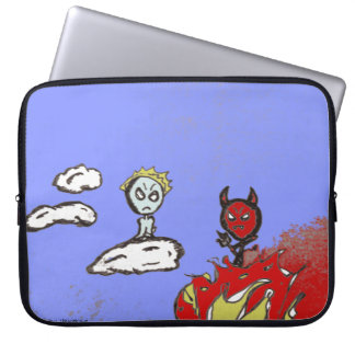 Heaven & Hell Laptop Computer Sleeves