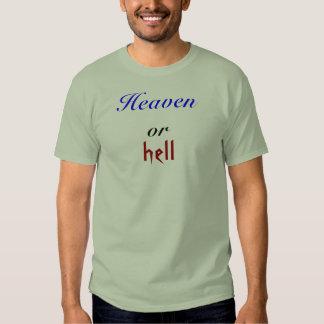 Heaven, hell, or tees