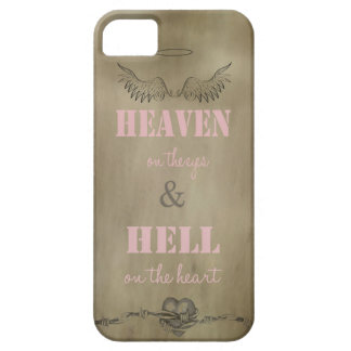 Heaven on the Eyes & Hell on the Heart Phone Case iPhone 5 Cover