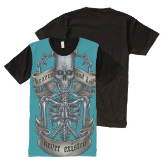 Heaven Or Hell ? All-Over Print T-Shirt