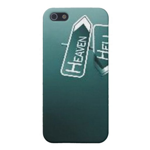 Heaven or Hell iPhone Cover iPhone 5 Covers